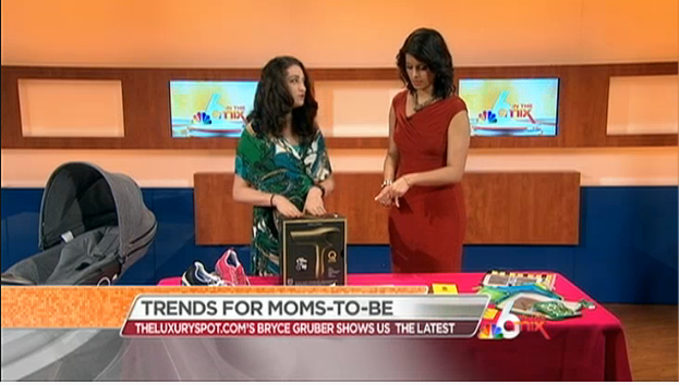 Bryce Gruber Mommy to be Trends NBC Miami