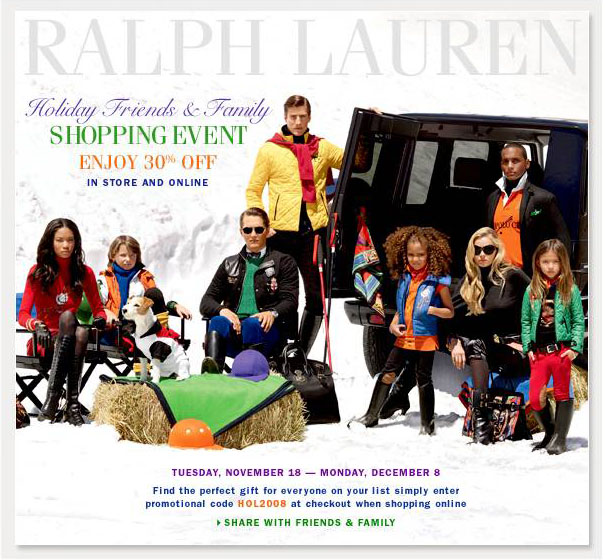 3c6c6c857 In-Store and ONLINE at RALPH LAUREN! ONLINE use code HOL2008