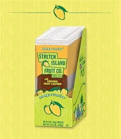 Stretch Island Fruit Leathers $11.52 for 30