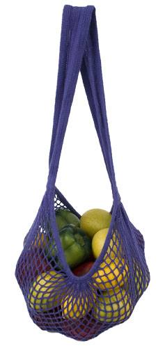 Milano in Purple (filled with a million apples) $7 at EcoBags.com