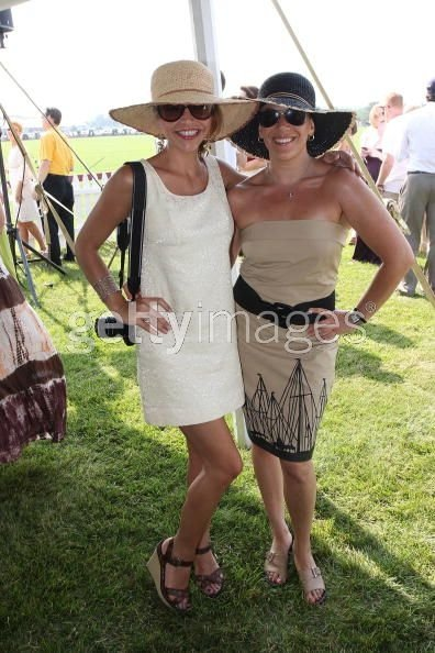 Stephanie Newhouse & Britten Heft at Bridgehampton Polo Challenge