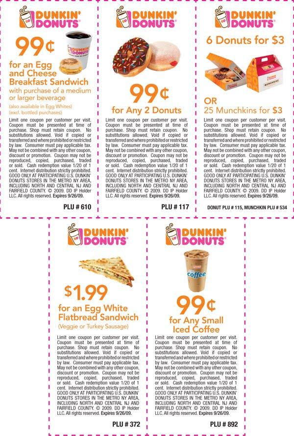 Printable coffee coupons