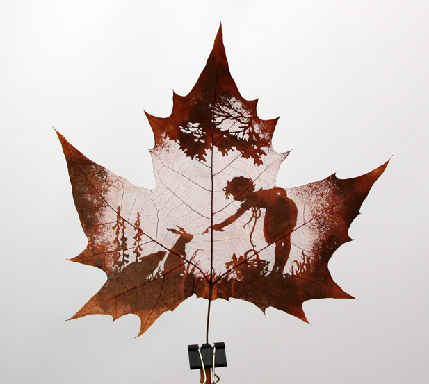 Awesome leaf carving art the luxury spot solutioingenieria Image collections