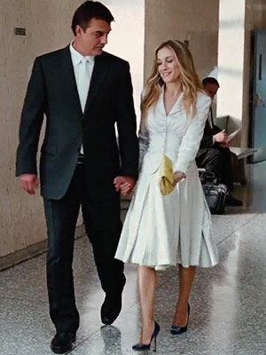 Carry Bradshaw Wedding Dress.The Wedding Suit Love Or Hate The Luxury Spot