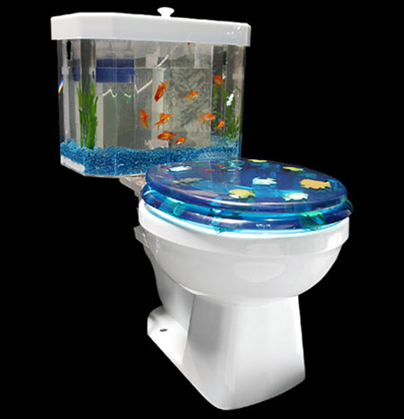 Sink Aquarium Bathroom Sink Aquarium And Toilet Bowl