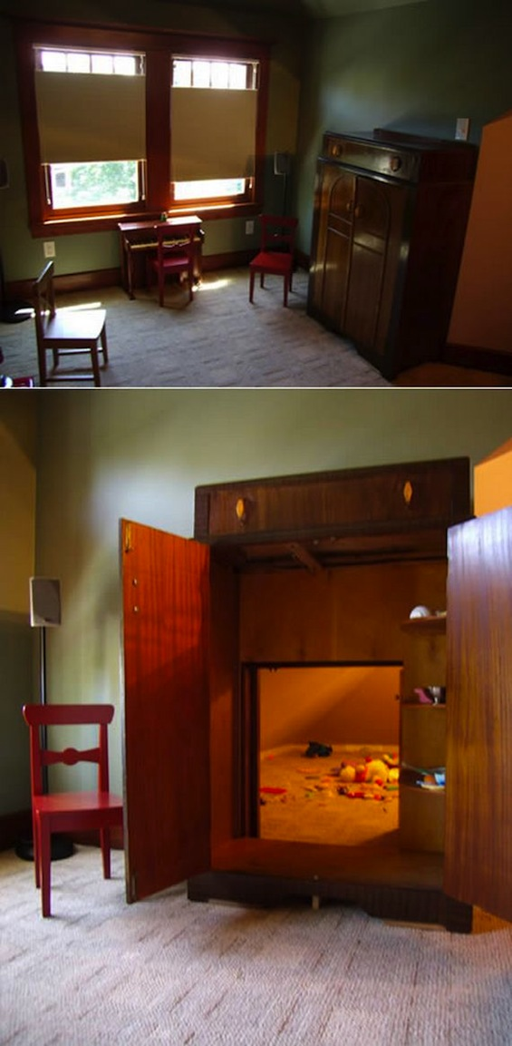 Decor Spotting Secret Passageways And Hidden Rooms The