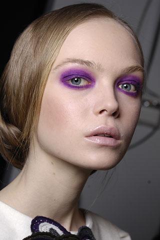 Purple Eyeshadow Fall 2009 The Luxury Spot