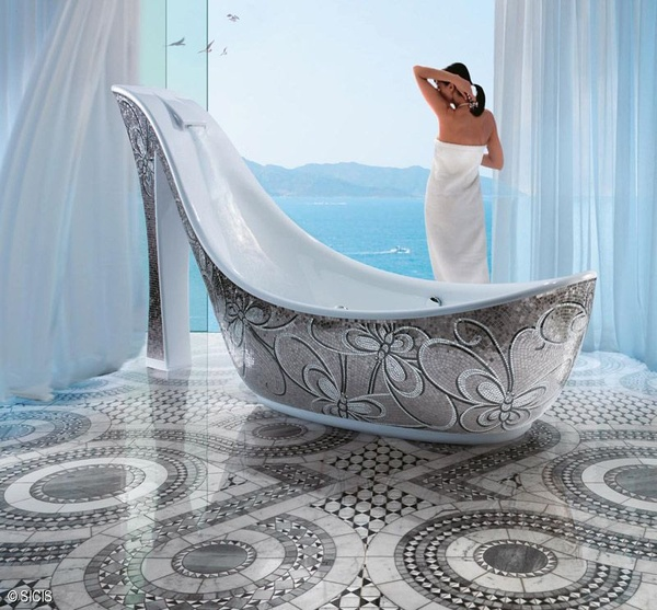 Decor Spotting The High Heel Bathtub