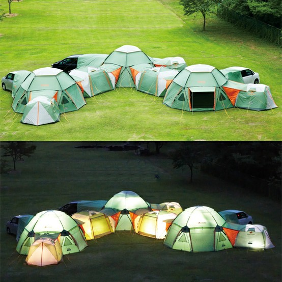 camping, tents, zip together
