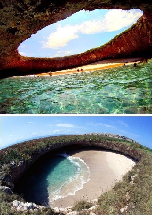 hidden beach puerto vallarta