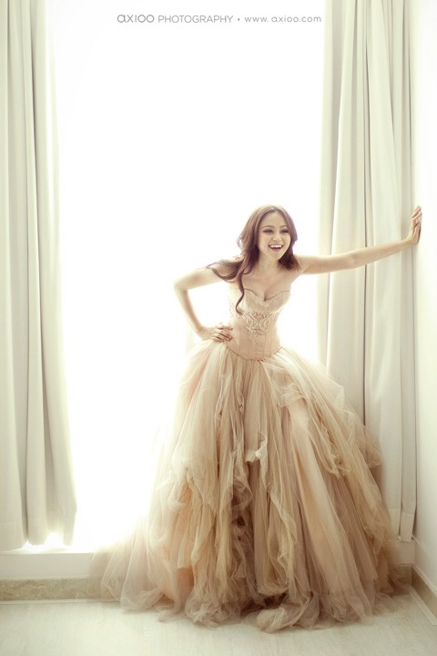 couture gown photography