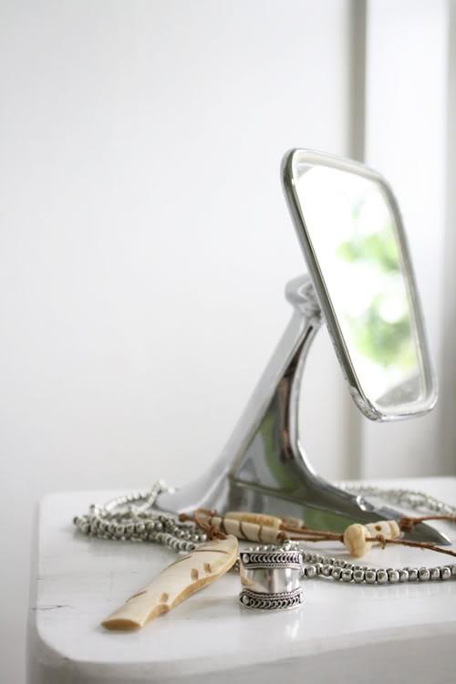side mirror vanity
