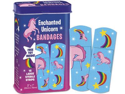 unicorn bandaids