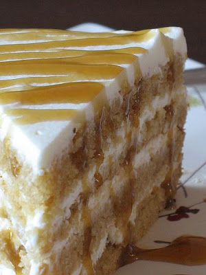 butterscotch mascarpone cream cake
