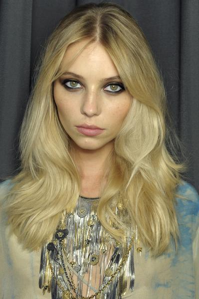 Versace Spring 2013 hair Milan fashion week