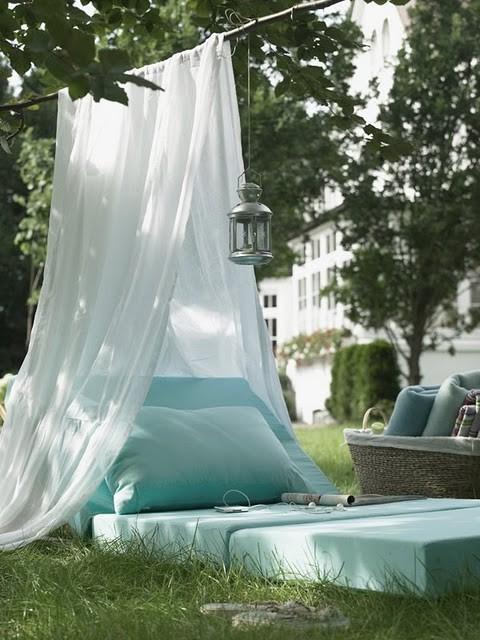 backyard date tent