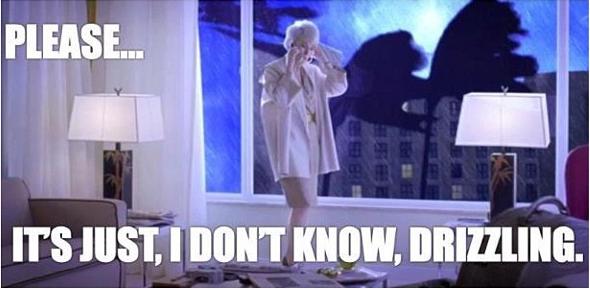 Devil Wears Prada It's Just Drizzling Hurricane Sandy