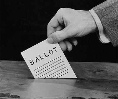 vintage ballot