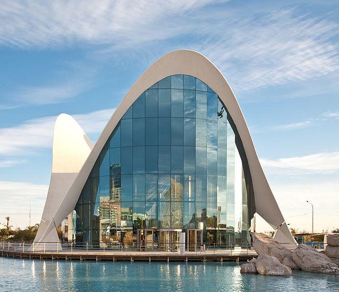 L'Oceanografic Valencia Spain