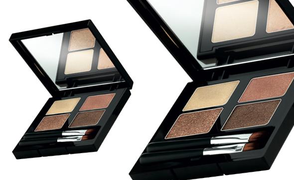 4 color eyeshadow palette smokey copper body shop
