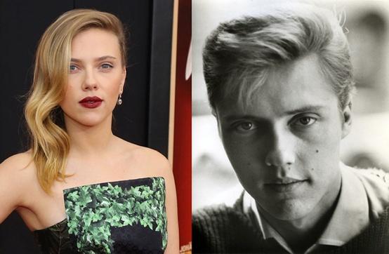 Scarlett Johnassen and Christopher Walken
