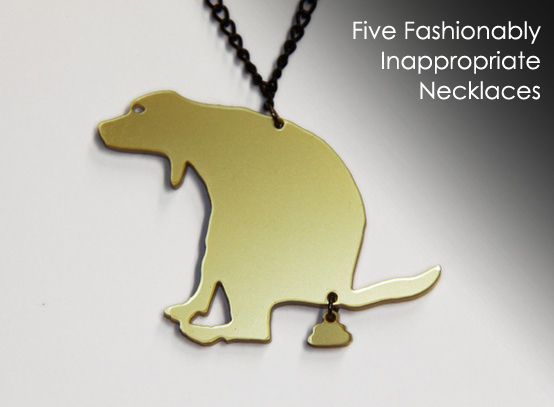 funny inappropriate necklace