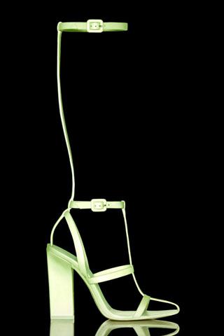 Alexander Wang neon heels
