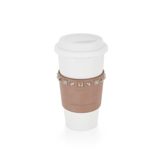 studded BCBG coffee cup