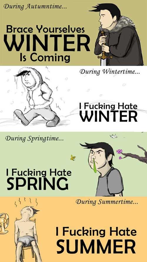 seasonal compaints