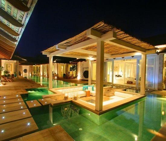 fantasy outdoor living room