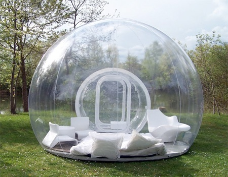inflatable outdoor tent