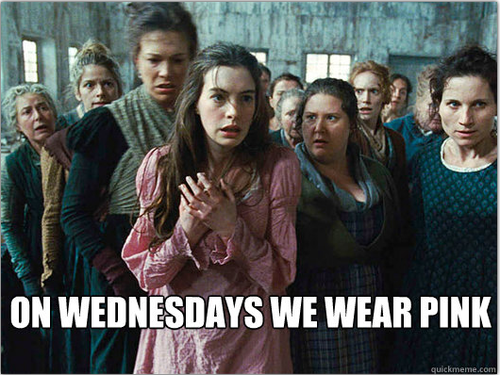 mean girls les miserables