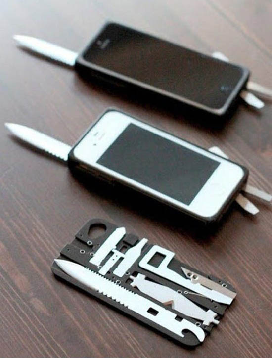 Swiss army knife iphone case