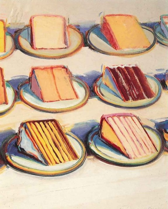 Wayne Thiebaud S Paintings