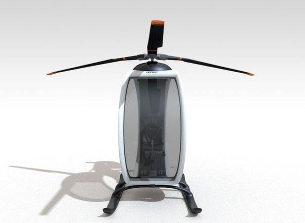 Zero personal helicopter