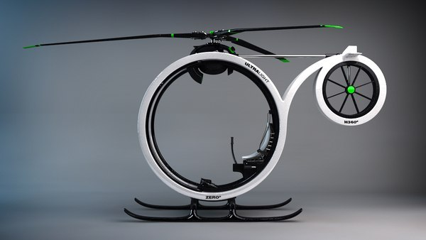 Zero personal helicopter