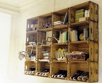 vintage crate DIY