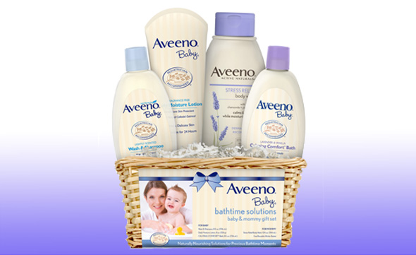 Aveeno Baby Bathtime Solutions Gift Set