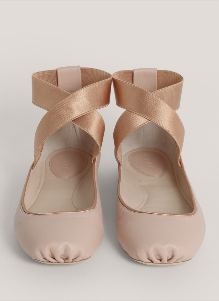 Pointe Shoe Flats Chloe