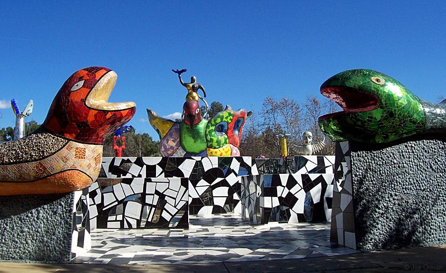 Queen Califias sculpture garden