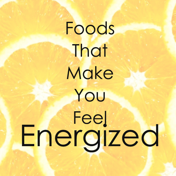Energizing foods