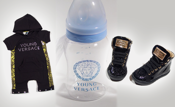 Young Versace baby clothes
