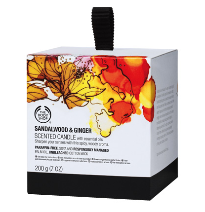 Body Shop candle