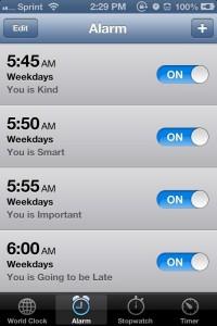 alarm Help