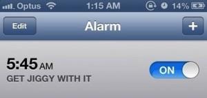 alarm jiggy