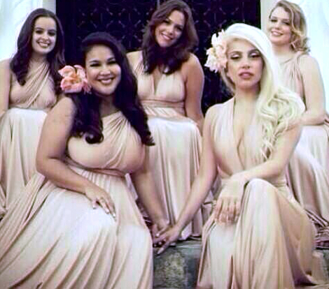 lady-gaga-bridesmaid