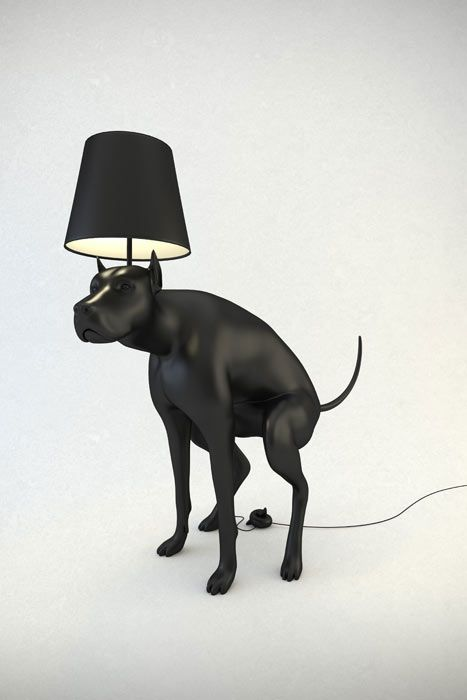 dog turd lamp