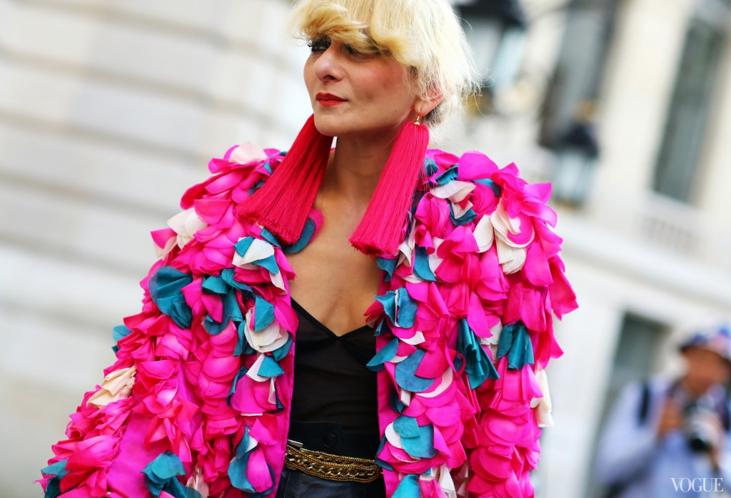 Pink Couture Streetstyle