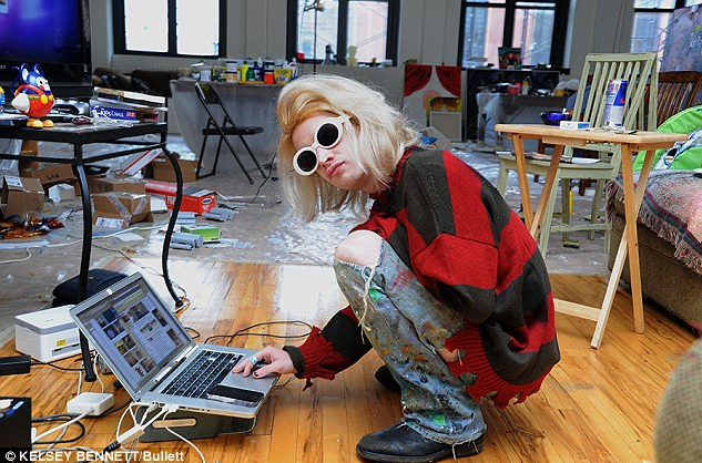 macauley culkin art studio