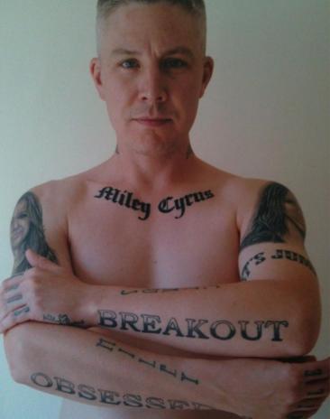 carl mcoid miley cyrus tattoos